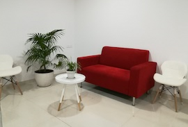 Our guest waiting area at Kharadi, Pune office.
